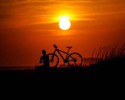 Photograph - Silhouette by Robert L Jackson