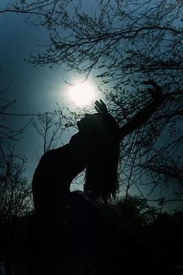 Dancer Photograph - Silhouette by Ryan Crane