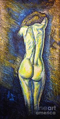Painting - Silhouette by Viktor Lazarev