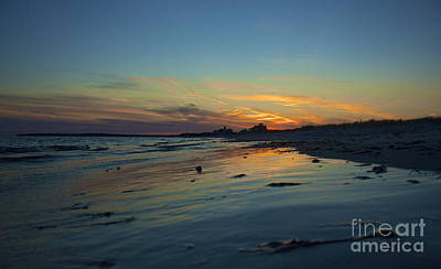 Photograph - Silhouetted At Sea Gull Beach by Amazing Jules
