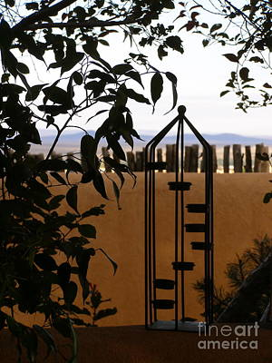 Photograph - Silhouettes Against The Desert by LeLa Becker
