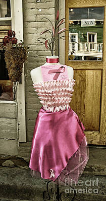 Silk Dress Art Print
