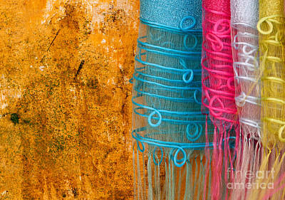 Photograph - Silk Fabric 05 by Rick Piper Photography