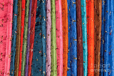 Photograph - Silk Fabric 06 by Rick Piper Photography