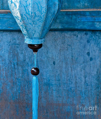 Photograph - Silk Lantern 01 by Rick Piper Photography