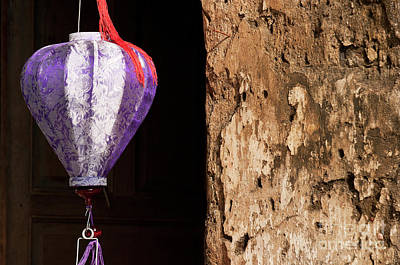 Photograph - Silk Lantern 02 by Rick Piper Photography