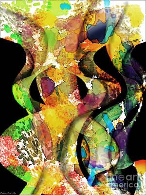 Silk Scarves Art Print
