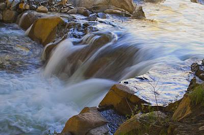 Photograph - Silk Stream by SC Heffner