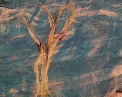 Silk Trees Art Print by Aliceann Carlton
