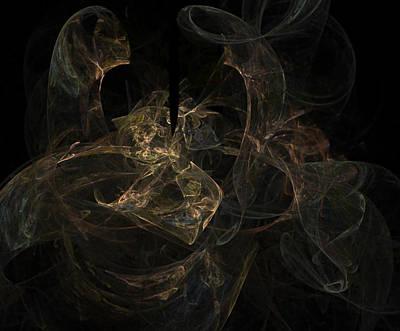 Digital Art - Silken by Betsy Jones