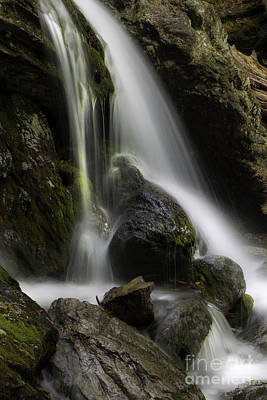 Photograph - Silken Cascades by Expressive Landscapes Fine Art Photography by Thom