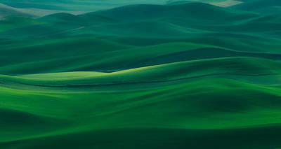 Photograph - Silken Valley by Don Schwartz
