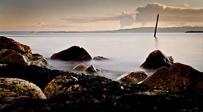 Nature Scene Photograph - Silky Pacific Ocean by Eva Kondzialkiewicz