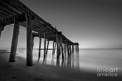 Silky Sunrise Black And White Original by Michael Ver Sprill