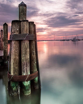 Chesapeake Bay Photograph - Silky Sunrise by Jennifer Casey