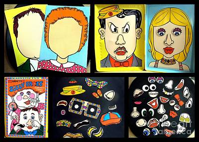 Photograph - Silly Faces Magnetic Fun by Renee Trenholm