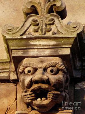 Photograph - Silly Gargoyle by Deborah Smolinske