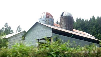 Photograph - Silo Barn by Susan Garren