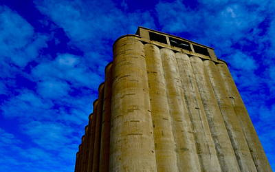 Photograph - Silo by Brooke Friendly