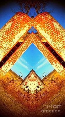 Silo Pyramid Art Print