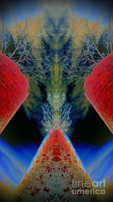 Silo Sky Art Print