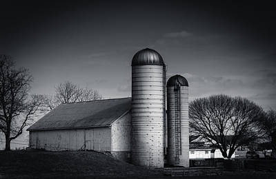 Photograph - Silos by Dave Hall