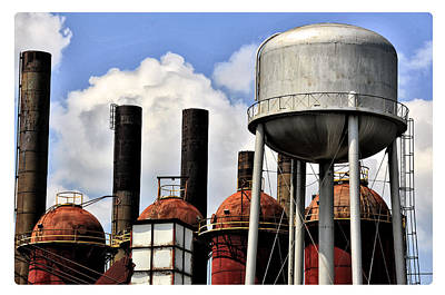 Photograph - Silos In The Sky by Davina Washington