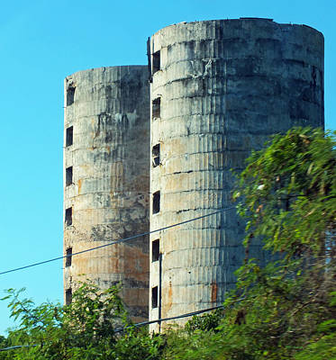Photograph - Abandoned Silos Of Eleuthera 2 by Duane McCullough