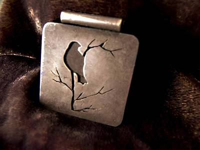 Jewelry - Silver Bird by Patricia  Tierney