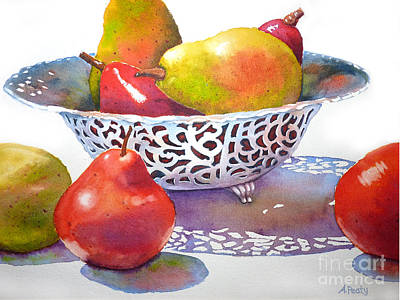 Painting - Silver Bowl by Audrey Peaty