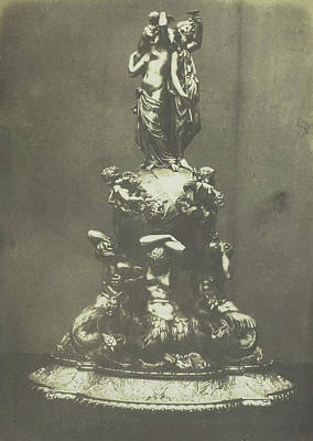 Silver Centre-piece In Repousse Work. Froment Meurice Art Print by Artokoloro