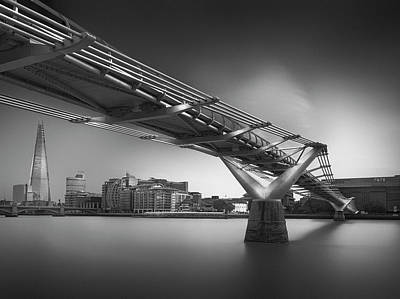 River Thames Photograph - Silver City 3 by Ahmed Thabet