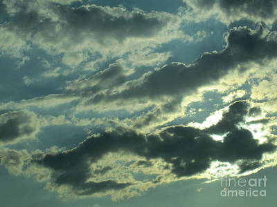 Photograph - Silver Clouds 2 by Tara  Shalton