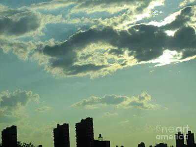 Photograph - Silver Clouds3 by Tara  Shalton