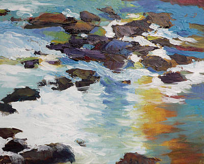Painting - Silver Creek No. 5 by Melody Cleary