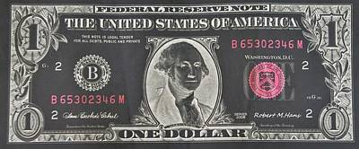 Photograph - Silver Dollar One by Rob Hans