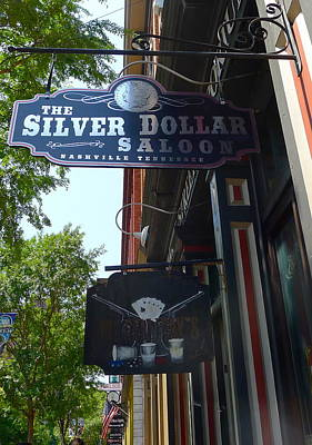 Photograph - Silver Dollar Saloon by Denise Mazzocco