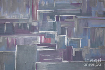 Painting - Silver Elegance by Stacey Zimmerman