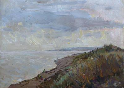 Painting - Silver Evening by Juliya Zhukova