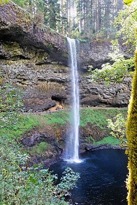 Photograph - Silver Falls by Jane Girardot