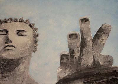 Nataliya Painting - Silver by Gaus Nataliya
