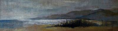 Painting - Silver Night On Creta by Karina Plachetka