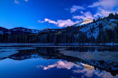 Photograph - Silver Lake by Dustin  LeFevre