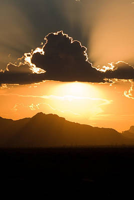 Photograph - Silver Lining by Brad Brizek