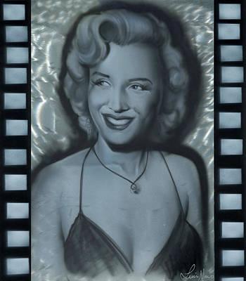 Silver Marylin 1 Art Print