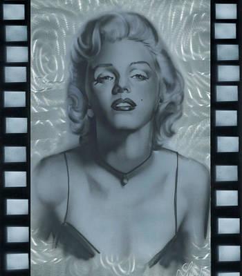Silver Marylin 2 Art Print