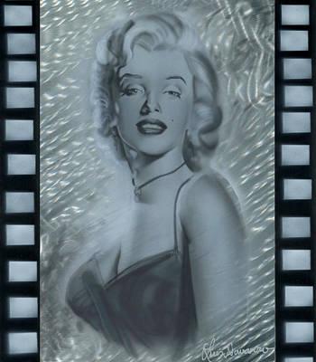 Silver Marylin 3 Art Print
