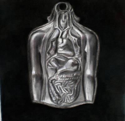 Silver Milagro Art Print by Paez  ANTONIO