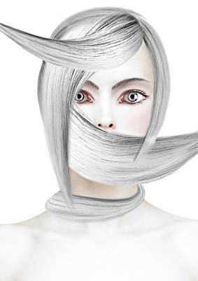 Silver One Art Print by Yosi Cupano
