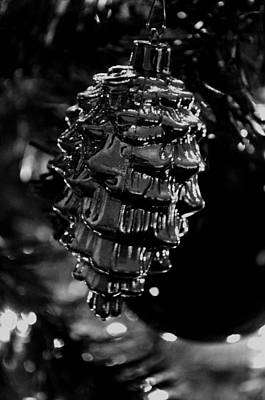 Photograph - Silver Ornament by Maria Urso